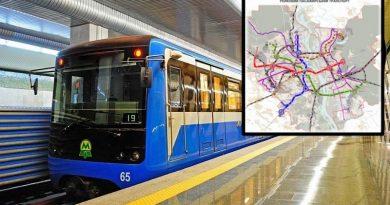 Kiev'in yeni şehir plan taslağı: Dördüncü metro hattı ve nehrin altında tünel geçişi