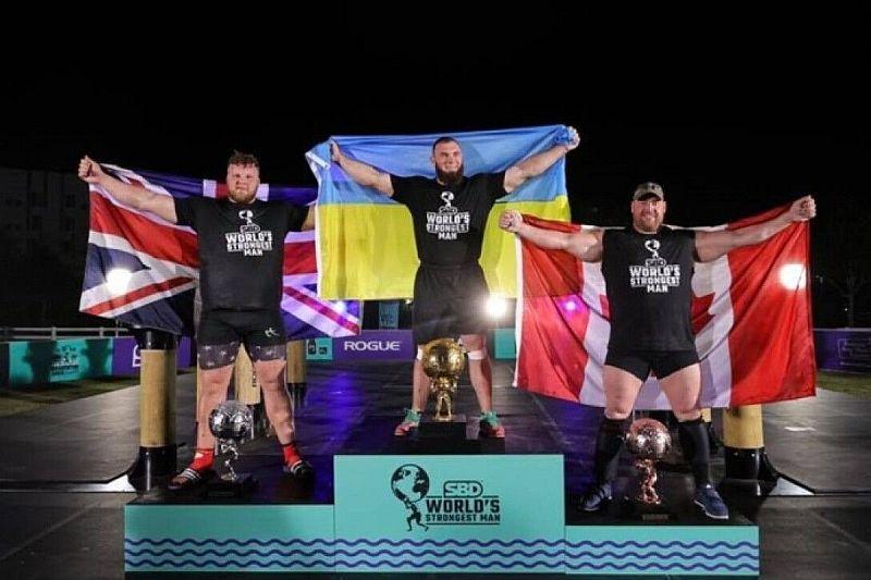 Ukraynalı Novikov dünyanın en güçlü insanı yarışmasını kazandı