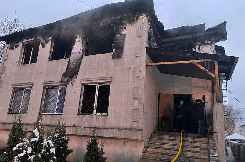 Harkov'da özel bir huzurevinde çıkan yangında 15 kişi öldü (video) | Ukrayna'dan  Haberler